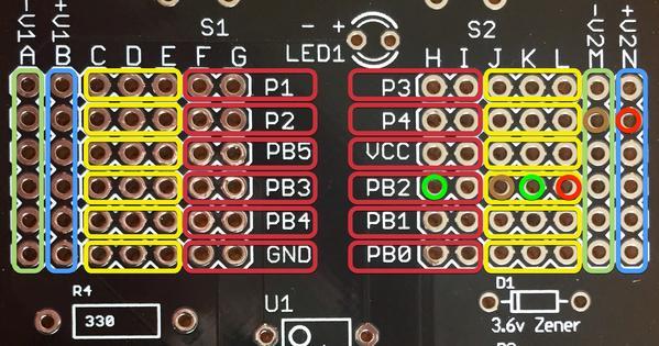 Photoresistor on board